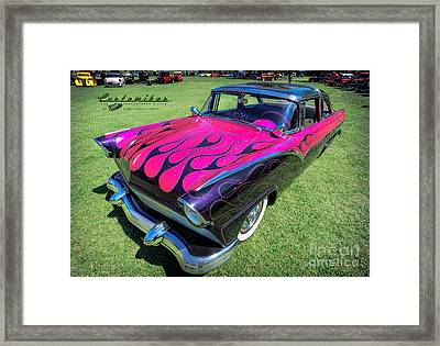 Pretty In Pink Framed Print by Customikes Fun Photography and Film Aka K Mikael Wallin