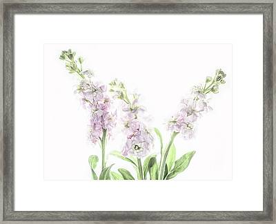 Framed Print featuring the photograph Pretty In Pink by Rebecca Cozart