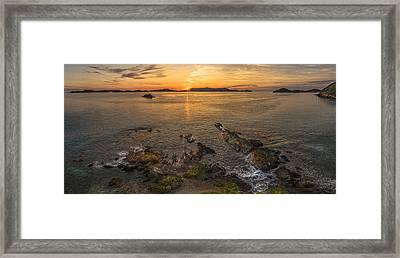 Pretty Klip Point Framed Print