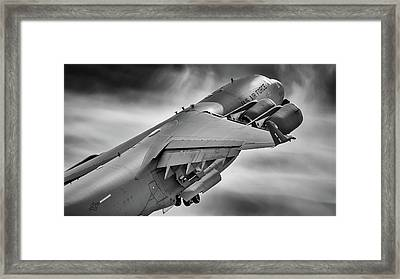 Pretty Light On His Feet Framed Print