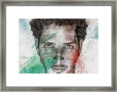 Pretty Noose - Tribute To  Chris Cornell Framed Print by Marco Paludet