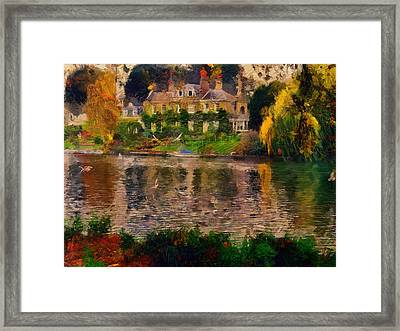 Pretty On The River Framed Print