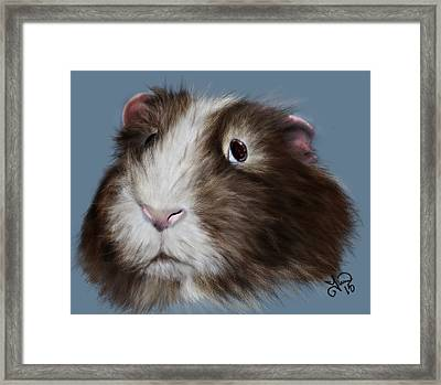 Pretty Piggy Framed Print