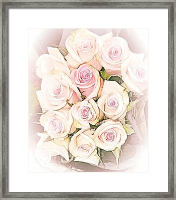 Pretty Roses Framed Print