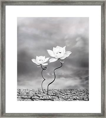 Prevail Framed Print by Jacky Gerritsen
