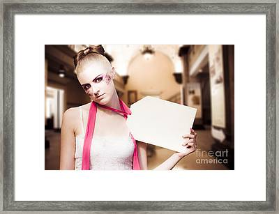 Price Tag Framed Print by Jorgo Photography - Wall Art Gallery