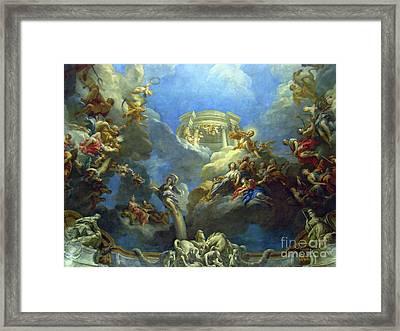 Priceless Art In Versailles II Framed Print by Al Bourassa