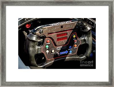 Pricey Steering Wheel Framed Print