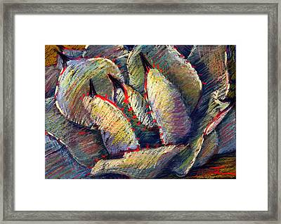 Prickly Framed Print by Athena  Mantle