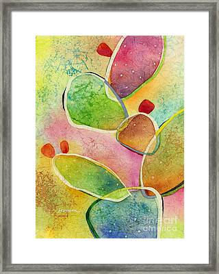 Prickly Pizazz 1 Framed Print by Hailey E Herrera