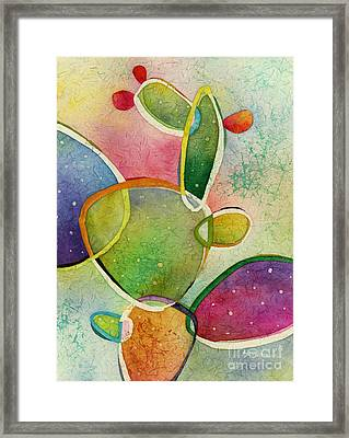 Prickly Pizazz 2 Framed Print by Hailey E Herrera