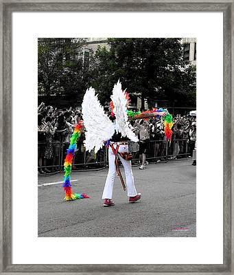 Pride Angel 21126 Framed Print