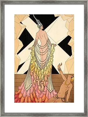 Pride Framed Print by Georges Barbier