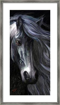 Framed Print featuring the painting Pride by James Shepherd