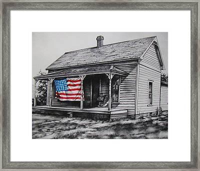 Pride Framed Print by Michael Lee Summers