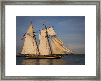 Pride Of Baltimore II Framed Print by Dale Kincaid