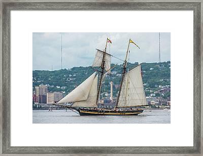 Pride Of Baltimore II Framed Print by Paul Freidlund