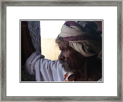 Pride Of India Framed Print by Goutam Gujjar