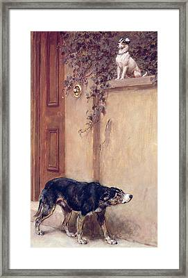 Pride Of Place Framed Print by Briton Riviere