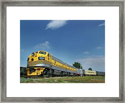 Pride Of The Passenger Fleet Framed Print by Ken Smith