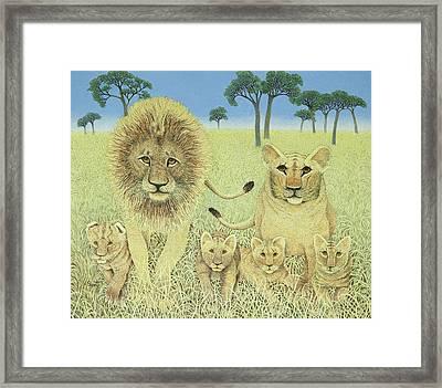 Pride Framed Print by Pat Scott