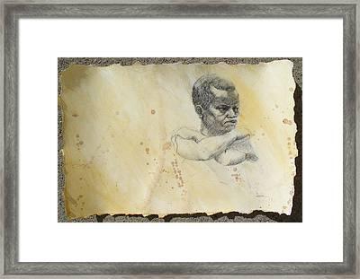 Pride Framed Print by Victor Amor