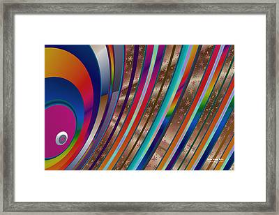 Pride Waves 2101 Framed Print