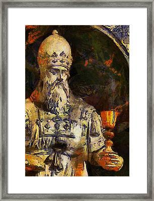 Priest Framed Print
