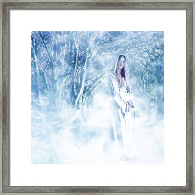 Priestess Framed Print by John Edwards