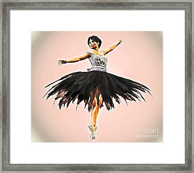 Prima Donna Framed Print by Methune Hively