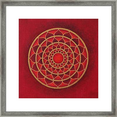 Primal Joy Framed Print