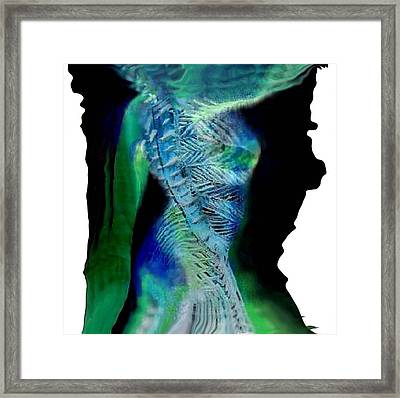 Primal Spring Night Framed Print