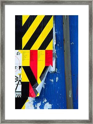 Primaries Framed Print by Art Ferrier