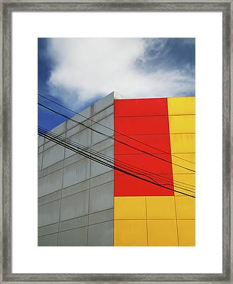 Primarily 1 Framed Print