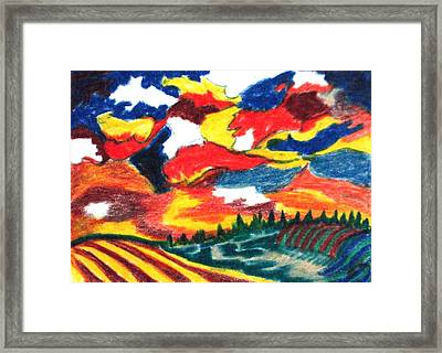 Primary Color Field Framed Print by Jacquie King