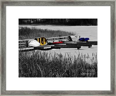Primary Colors  How Plain Life Could Be Without Framed Print