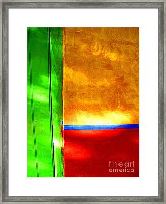 Primary Mexico By Darian Day Framed Print by Mexicolors Art Photography