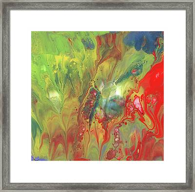 Primary Party Framed Print