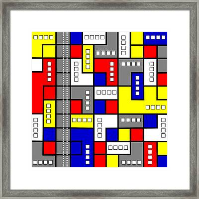 Primary Passion Framed Print by Tara Hutton