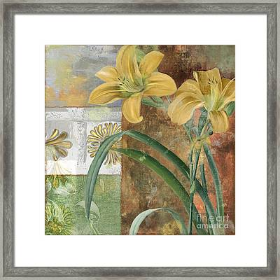 Primavera II Framed Print by Mindy Sommers