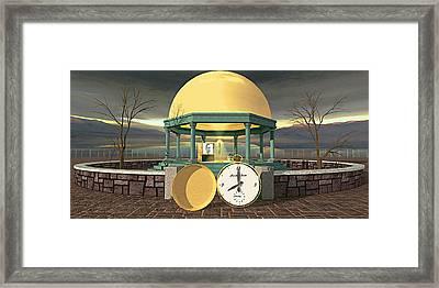 Prime Time Shrine Framed Print by Peter J Sucy