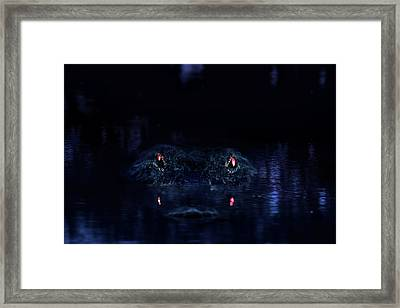 Primeval Framed Print by Mark Andrew Thomas