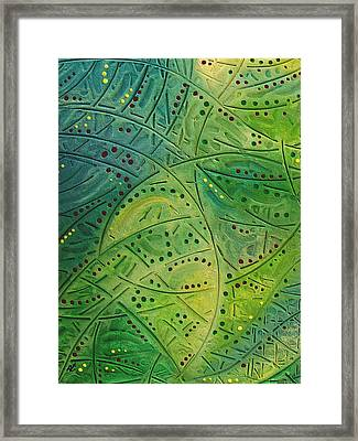 Primitive Abstract 2 By Rafi Talby Framed Print by Rafi Talby