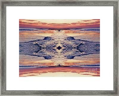 Primordial Passage Framed Print