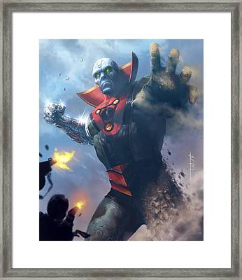 Primordo Unearthed Framed Print