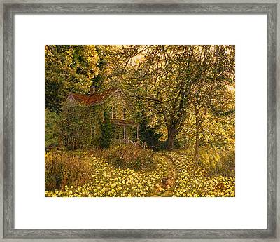 Primrose Path Framed Print by Doug Kreuger