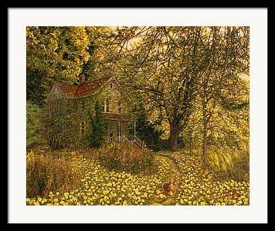 Fine Artist Doug Kreuger Framed Prints