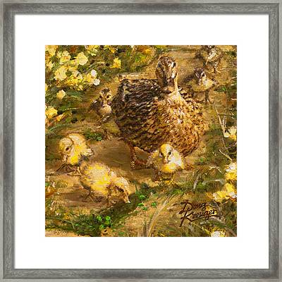 Primrose Path Ill Framed Print by Doug Kreuger
