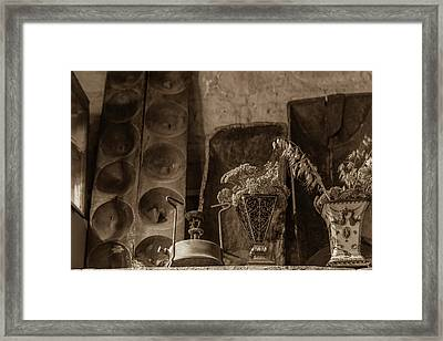 Primus Stove And Old Vases Framed Print by Iordanis Pallikaras