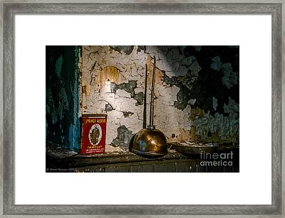 Prince Albert And His Can Framed Print by Arne Hansen